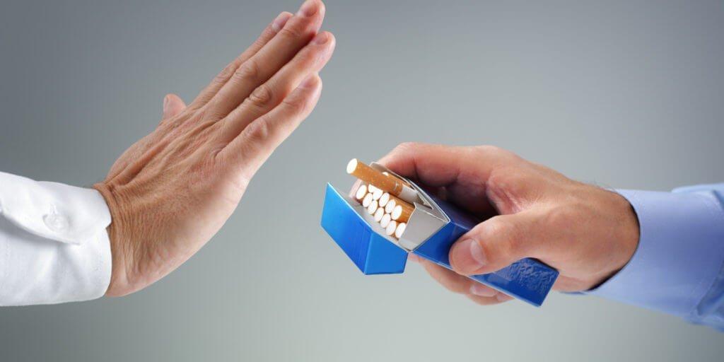 відмова від цигарок